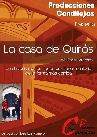 Cartel | La casa de Quirós