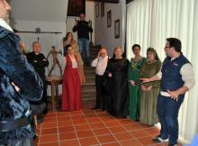 Ensayos visitas teatralizadas Casa Museo Cervantes de Esquivias